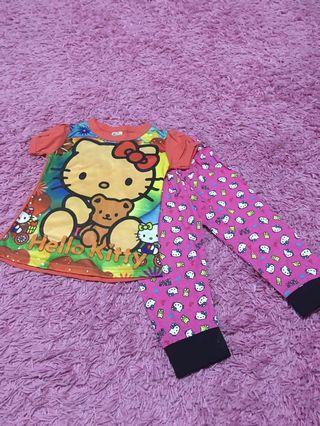 Hello kitty pyjamas size 1
