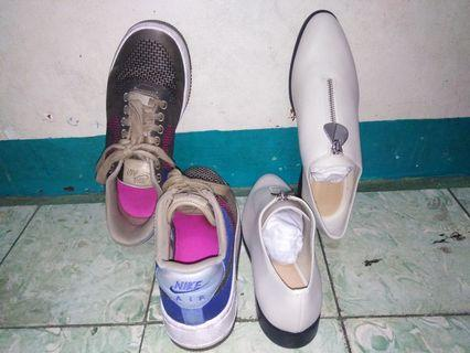 PROMO original Nike Air Force 1 and Charles and Keith shoes