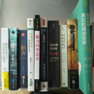 【快樂書屋】近全新之書籍,100起(b)