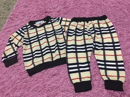 Checkers pyjamas size 1
