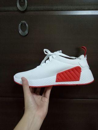 🚚 全新23.5 紅白運動鞋