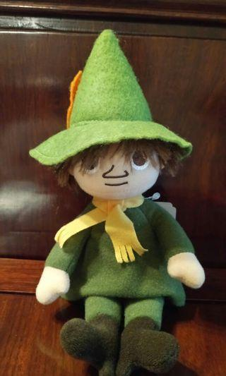 Moomin character doll toy 日本史力奇毛公仔