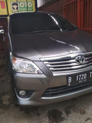Toyota Innova G MT 2.0 Abu2 2013
