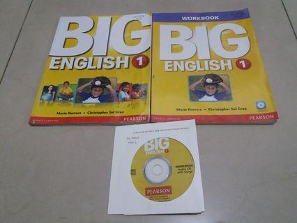 Paket Big English 1 (2 buku & 1 CD)