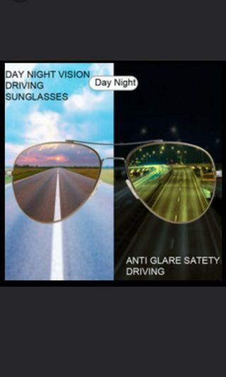 Anti-Glare Sunglasses for Fishing, Riding & Most Night Jobs