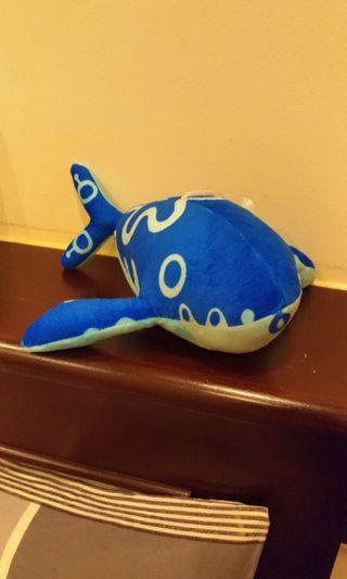 🚚 Blue whale soft toy