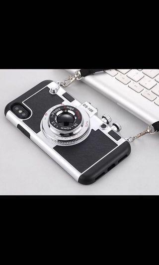 iPhone X 復古相機造型電話殻