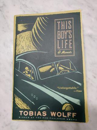 🚚 This Boy's Life by Tobias Wolff(Memoir/Book)