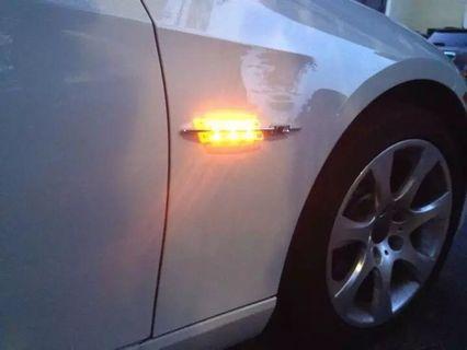 Bmw 1/3/5 系列 改裝 LED 葉子板 M power 側燈 535 320  e60 e90  e82