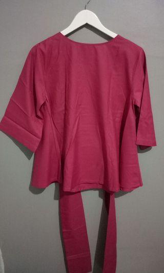 Blouse Pink fanta #blouse #mauvivo