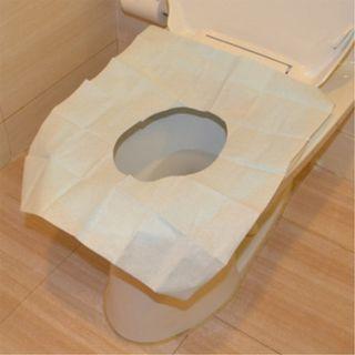 (可直接丟馬桶沖掉) 拋棄式 馬桶坐墊紙 2包/組