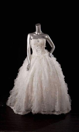 🚚 婚紗 白紗 澎裙 禮服 誠可議價