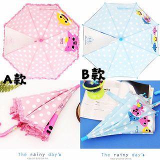 韓國🇰🇷🇰🇷🇰🇷直送Pink Fong & Baby Shark小童雨傘