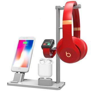 4 in 1 iPhone iWatch Apple Watch AirPods charging dock stand