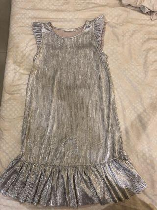 Glitter mango dress limited addition , can fit sml .Only wear once , consider new