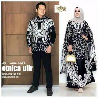 baju cuple an batik
