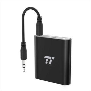 TaoTronics TT-BA11 65ft Bluetooth Transmitter Long Range 3.5mm & RCA Wireless Audio Adapter for TV (aptX Low Latency, Bluetooth 4.2, Pair 2 Stereos Headphones at Once)   #1288