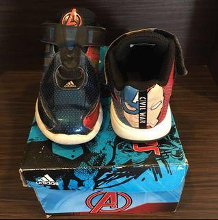 🚚 Adidas Marvel Avengers Ironman & Captain America Shoes
