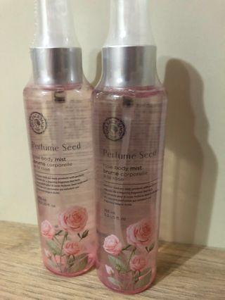 THE FACE SHOP Perfume Seed Rose Body Mist