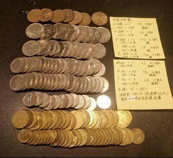 舊法國硬幣面值法郎194.05(約港幣260元)