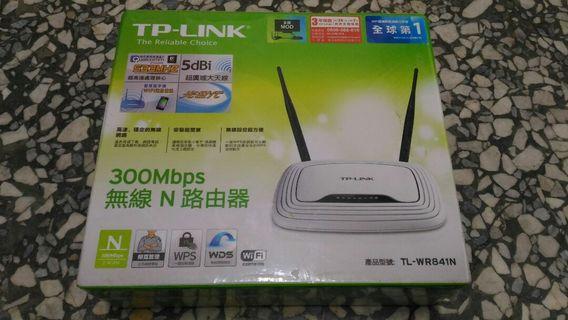 🚚 TP-Link TL-WR841N 300Mbps 無線寬頻路由器
