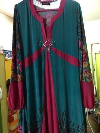 Baju kurung modern size 40
