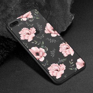 🚚 Iphone X Floral Rose Case Casing Cover