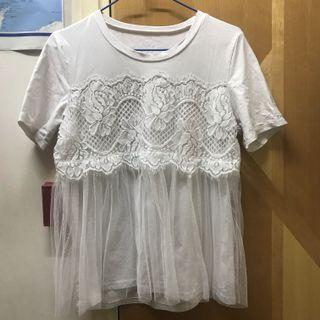 Lace White top