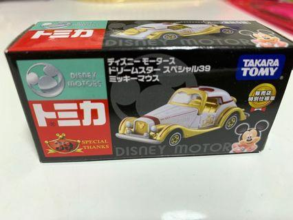 Takara Tomy Tomica Disney Motors Mickey 車仔 特別仕樣車