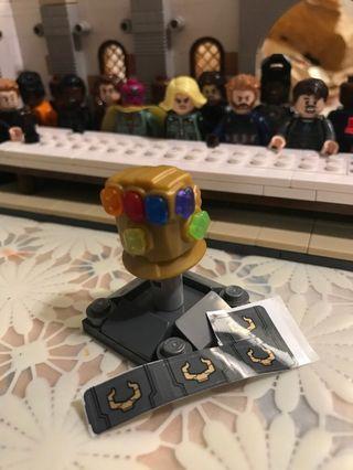 LEGO Gauntlet thanos Avengers do it myself infinity war endgame