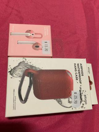 AirPods Ear Pads & AirPods waterproof hang case