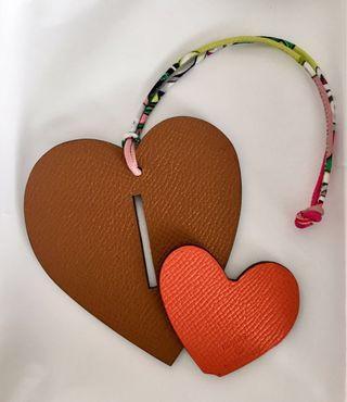 Hermes Petit h Heart Charm