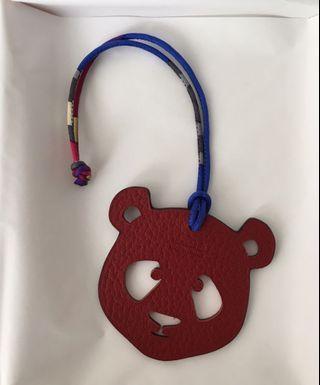 Hermes Petit h Panda bag charm