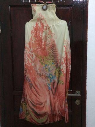 #BAPAU long dress, dress panjang