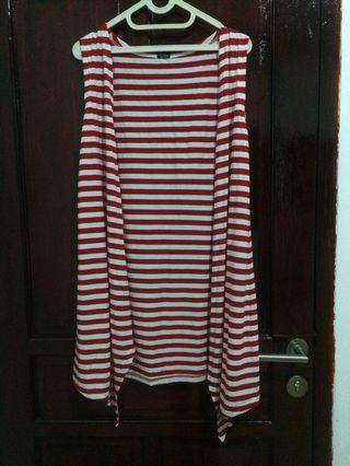 #BAPAU cardigan, stripe