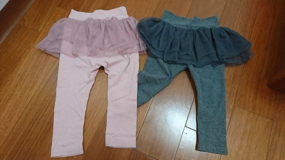 女童 澎紗裙 兩件一起賣 尺寸100cm
