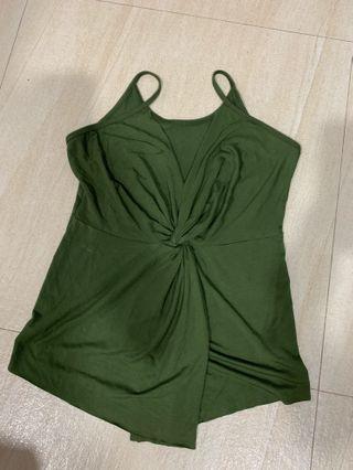 Army Green Twist Knot Too