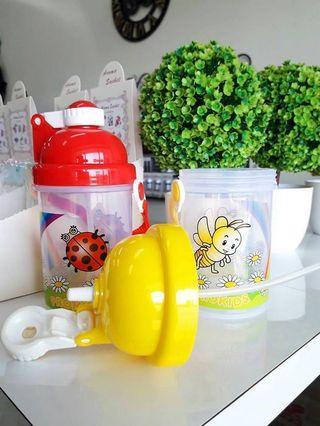 🚚 兒童吸管水壺-黃色