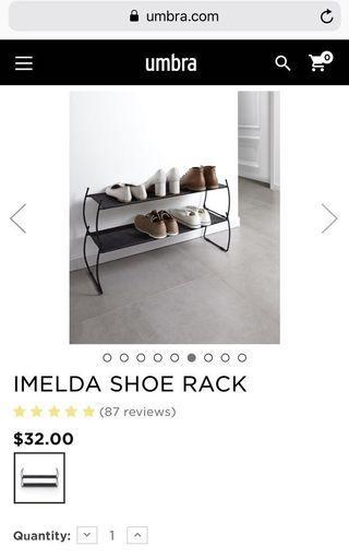 Umbra Shoes rack - Homeless Ikea
