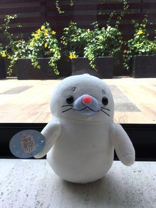White Seal Plush