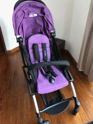 🚚 Kiddopotamus® Cabin size Ultra Lightweight one hand fold baby stroller airline approved cabin carry