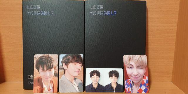 🚚 [WTS] Love yourself tear and answer official pcs and albums