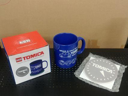 Tomica 陶瓷水杯 連杯墊 (全新)