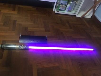 Star Wars Force FX Light Saber ( Mace Windo )