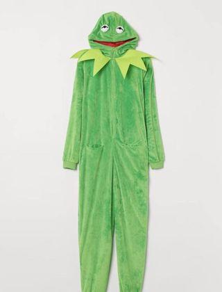 🚚 Kermit costume with hood from H&M