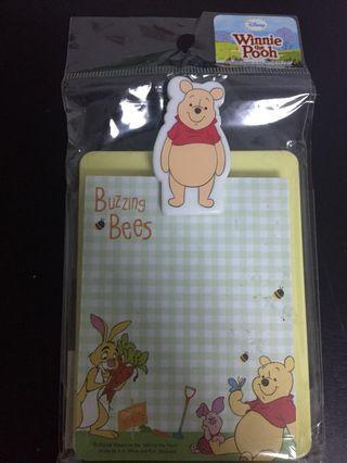 🚚 Winnie the Pooh memo