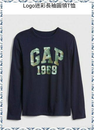 🚚 Gap正版商品 迷彩logo上衣
