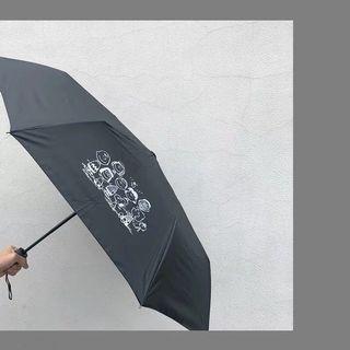 🚚 查理一家人防曬遮陽自動傘