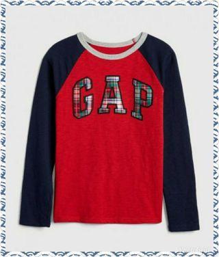 Gap官網代購 全新摩登紅logo上衣