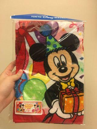 東京迪士尼 35週年毛巾